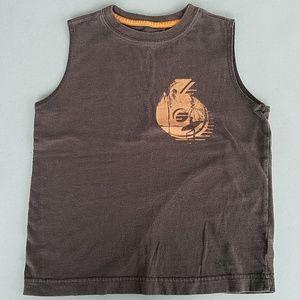 OLD NAVY Boys Brown Tank Top